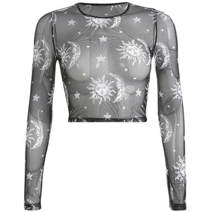 Transparent Long Sleeve t shirt