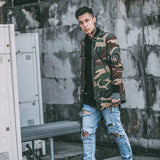 street camo Jacket Hip Hop Suit