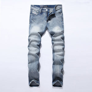 Denim Straight Cut Fit Jeans