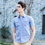 Denim Shirt Men Cotton Soft&Comfortable