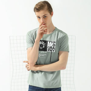 male top quality casual elastic T shirt