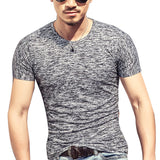 Men T shirt Casual Short Sleeve O-neck Fashion