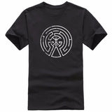 New Westworld Maze Men T Shirts Cotton Short Sleeve