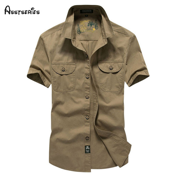 2018 New Arrival Summer Mens Dress Casual Slim Fit Short Sleeve