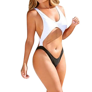 Women's Hot One-Piece Monokini Bandage Push Up Backless  Bikini