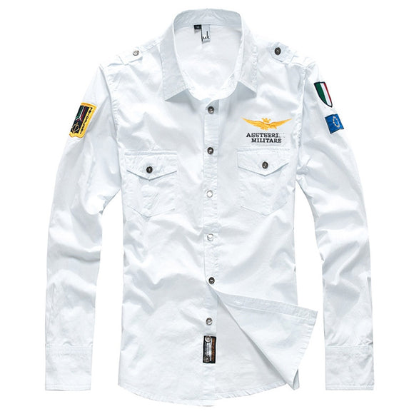 Men's Spring Aeronautica Militare AirForce One Shirt