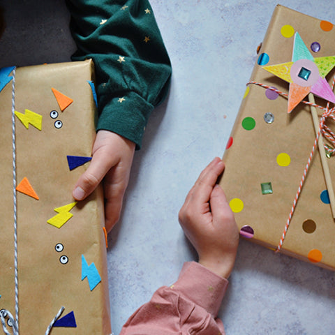 All Wrapped up! Quick and easy gift wrapping ideas for kids