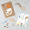 make your own halloween bat keyring kit