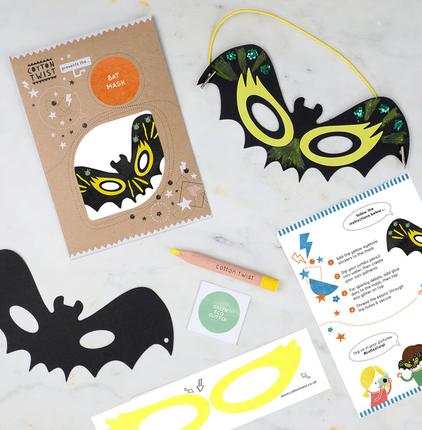 make your own bat mask