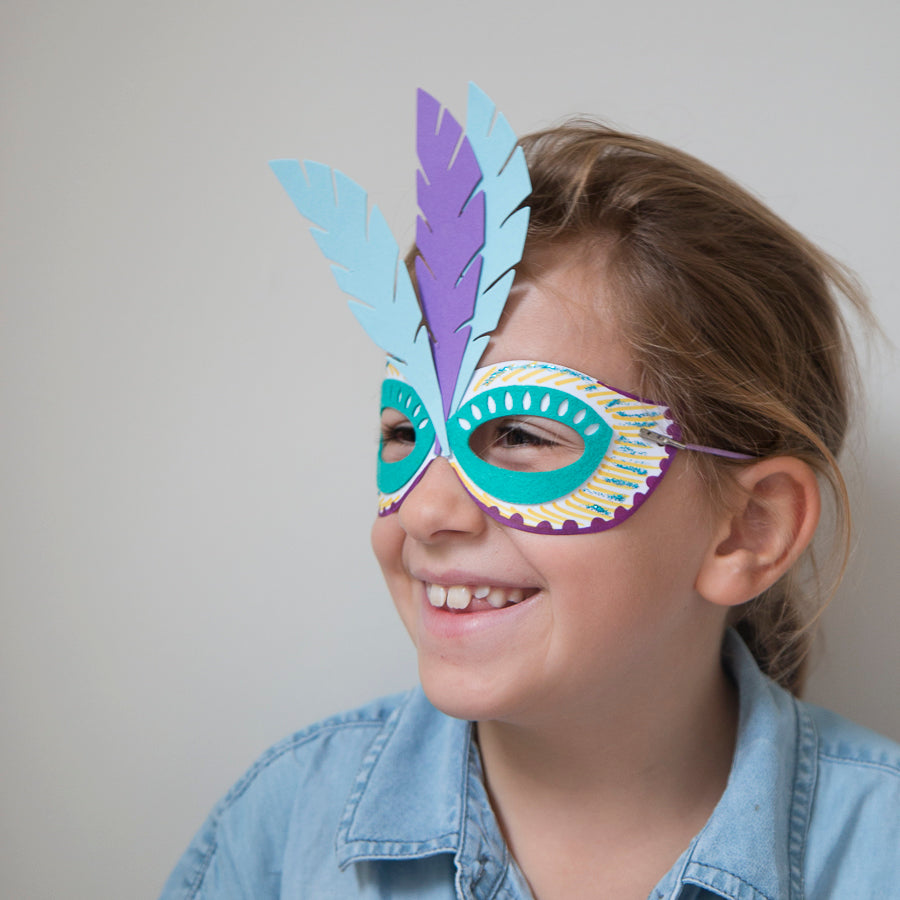 make your own carnival mask