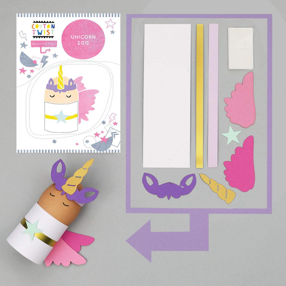 make your own unicorn egg character