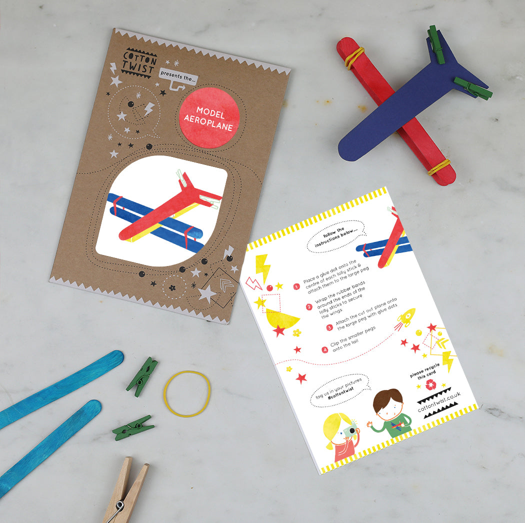 make your own model aeroplane