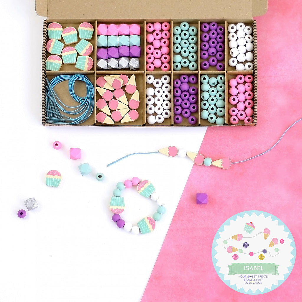 sweet treats - bracelet making kit