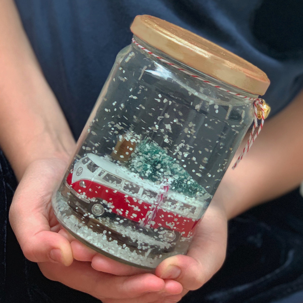 upcycle your own snow globes activity box