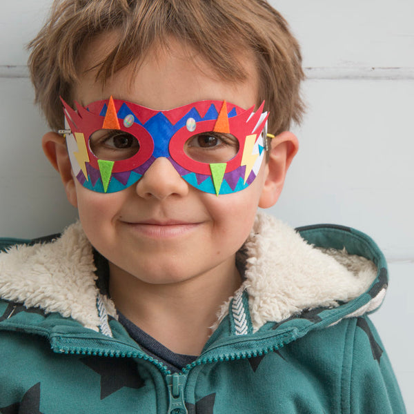 make your own superhero mask