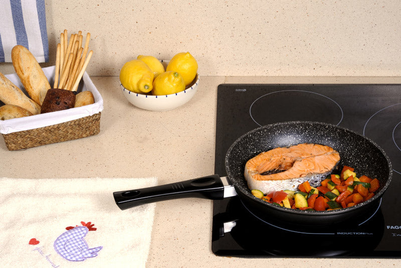 Stonewell Frypan Set with Utensils | Get the flavour-infused taste of real stone cooking