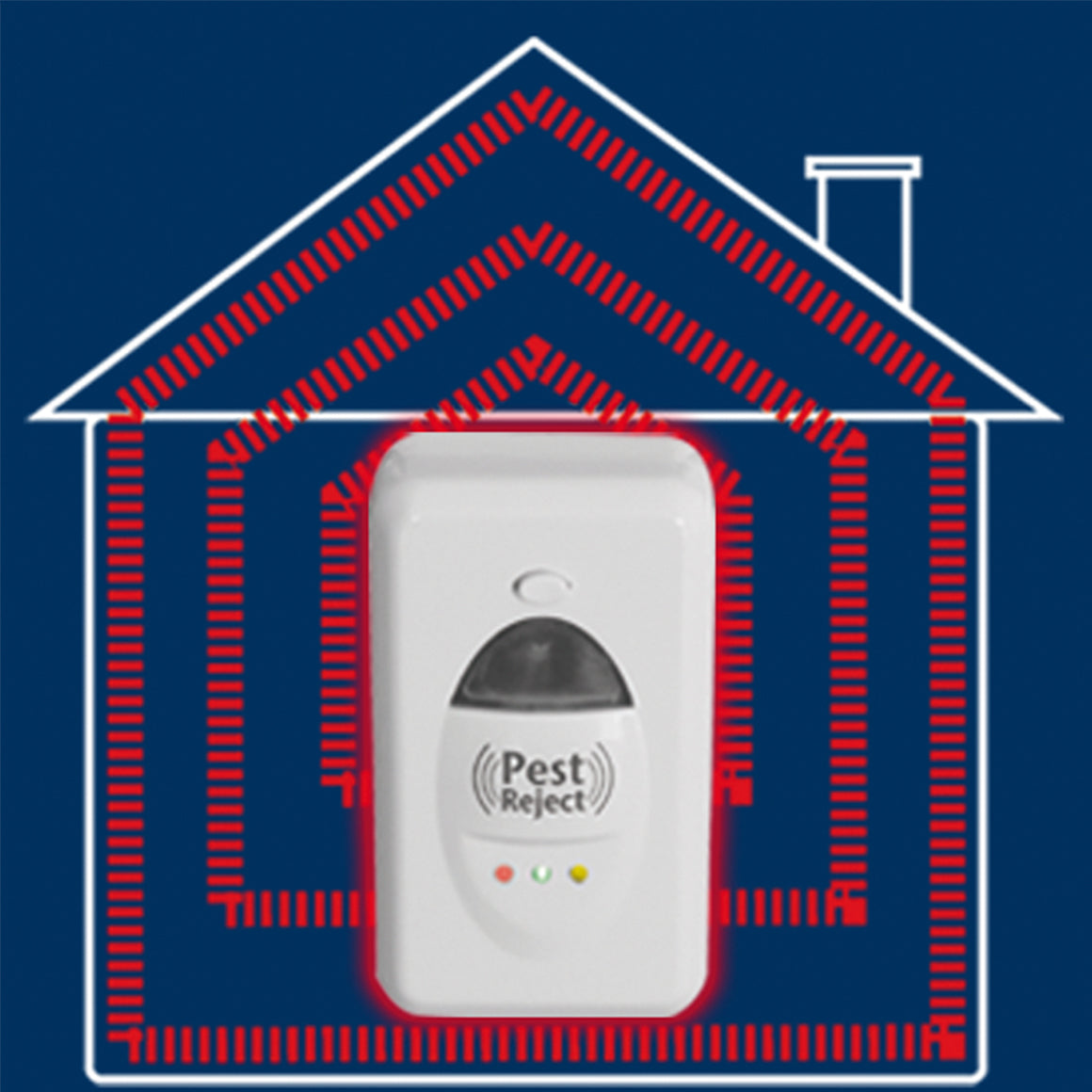 Pest Reject | Ultrasonic pest repeller