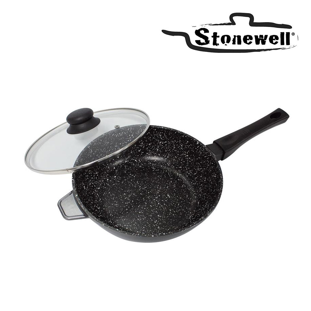 Stonewell | High capacity deep frying pan 28cm
