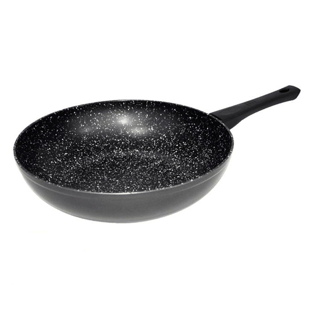 Stonewell Wok | Stone particle Wok to maintain the flavour | The best taste | 30 cm