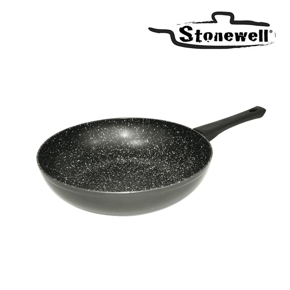 Stone particle Wok to maintain the flavour | The best taste | 30 cm Wok