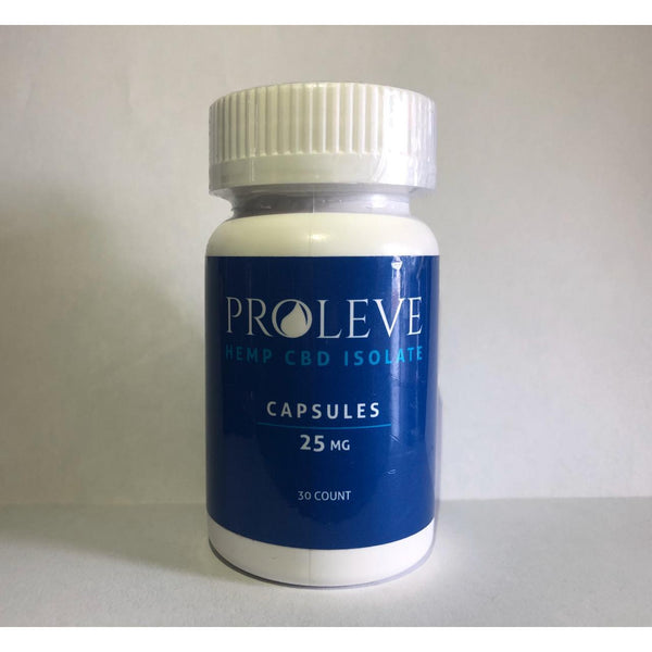 CÁPSULAS HEMP CBD ISOLATE 25 MG-CBD-PROLEVE-Vapos Mexico