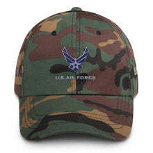 Load image into Gallery viewer, P. E. O. US Air Force Cap