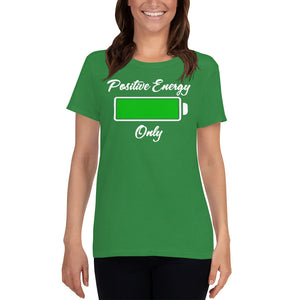 Ladies Heavy Cotton Short Sleeve T-Shirt(W)