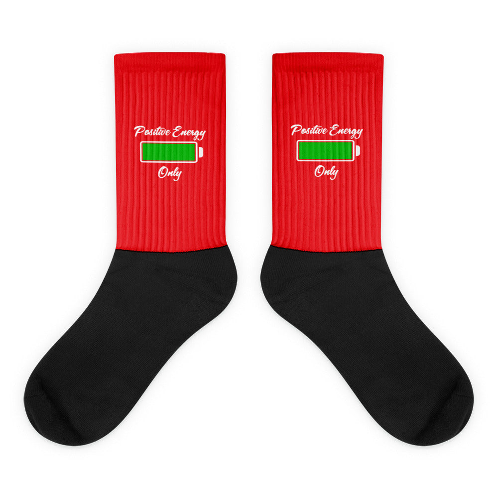 P. E. O. Socks Red