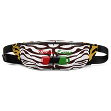 Load image into Gallery viewer, P.E.O. Fanny Pack Red, Black, & Green