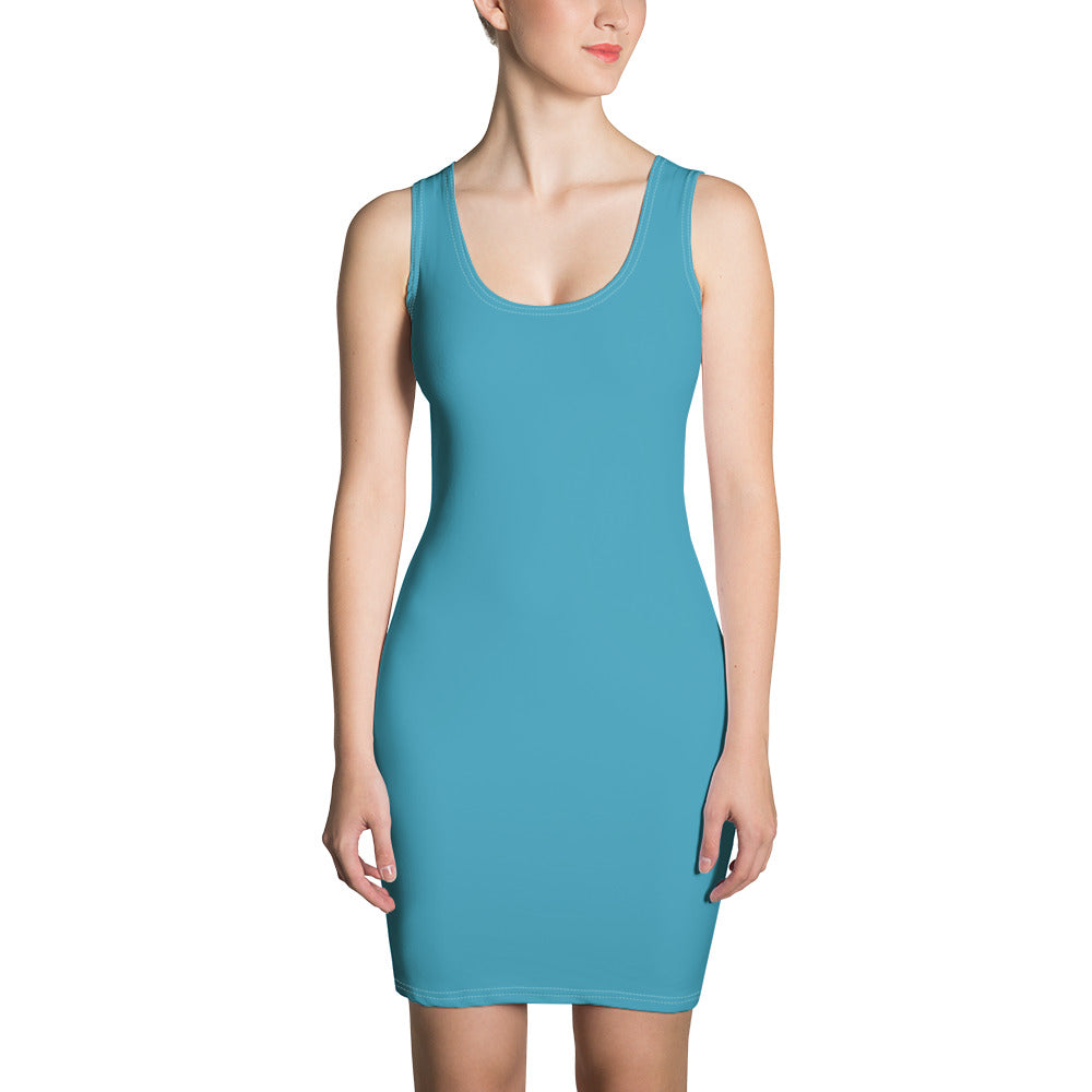 PEO Mixy Dress (Turquoise)