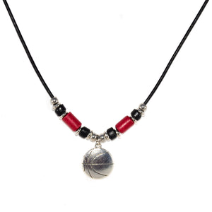 Basketball Cord Necklace