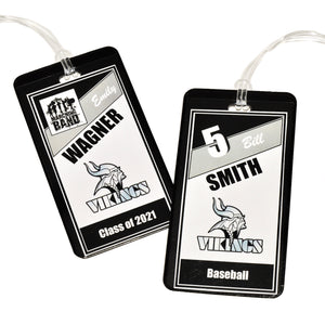 Blacklick Valley High School Personalized Bag Tag