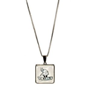 Blacklick Valley Vikings necklace stainless steel
