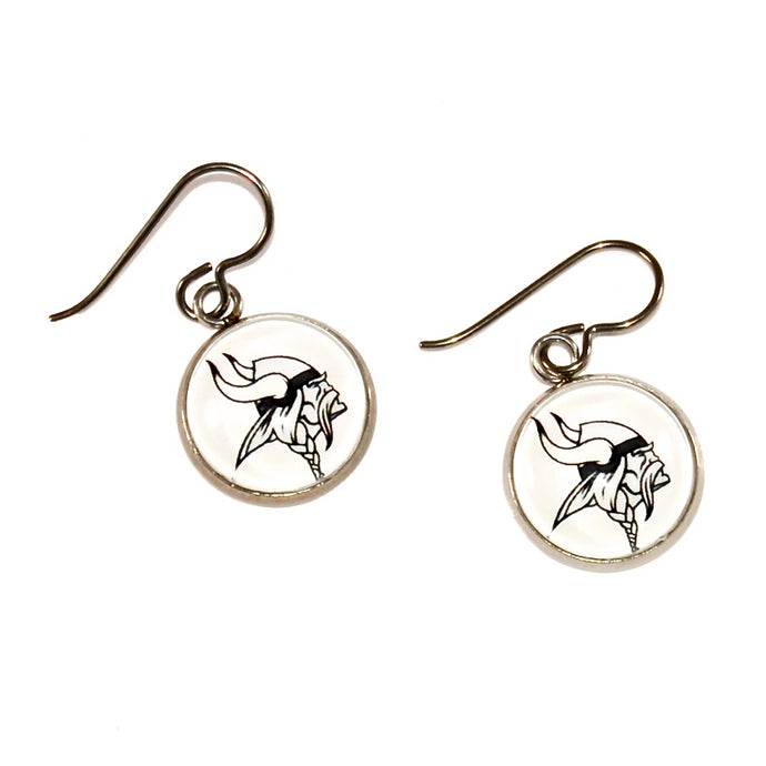 Blacklick Valley Vikings earrings