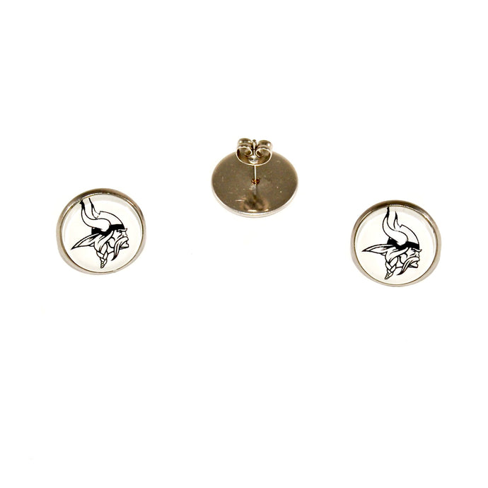 Blacklick Valley stainless steel stud earrings