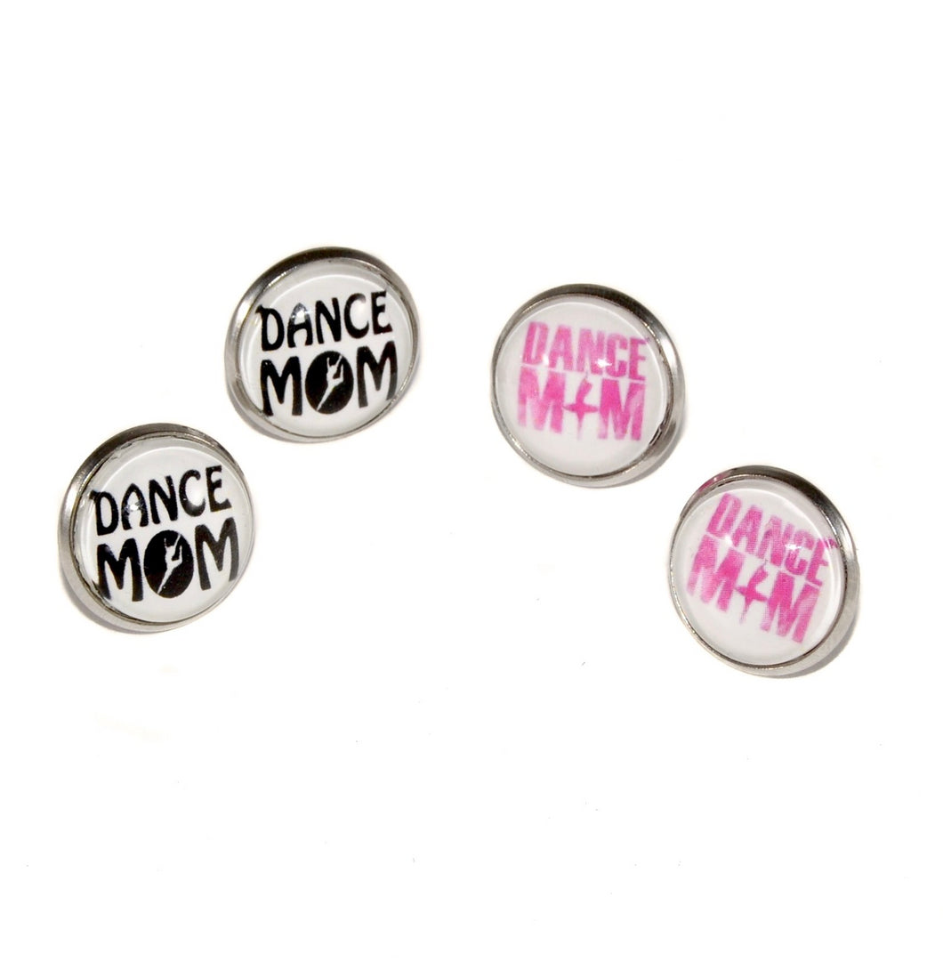 Dance Mom Stud Earrings