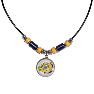 Olmsted Falls Leather Cord Necklace