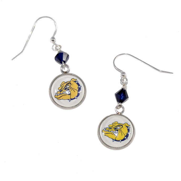 Olmsted Falls Bulldogs Charm Earrings