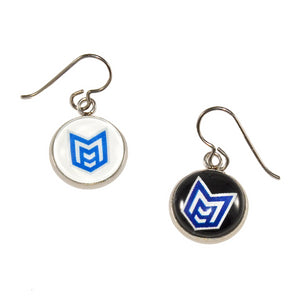 McKinney high school royal marching band earrings jewelry