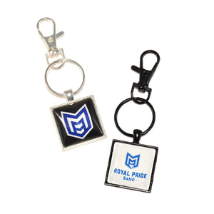 McKinney High School royal pride marching band keychains