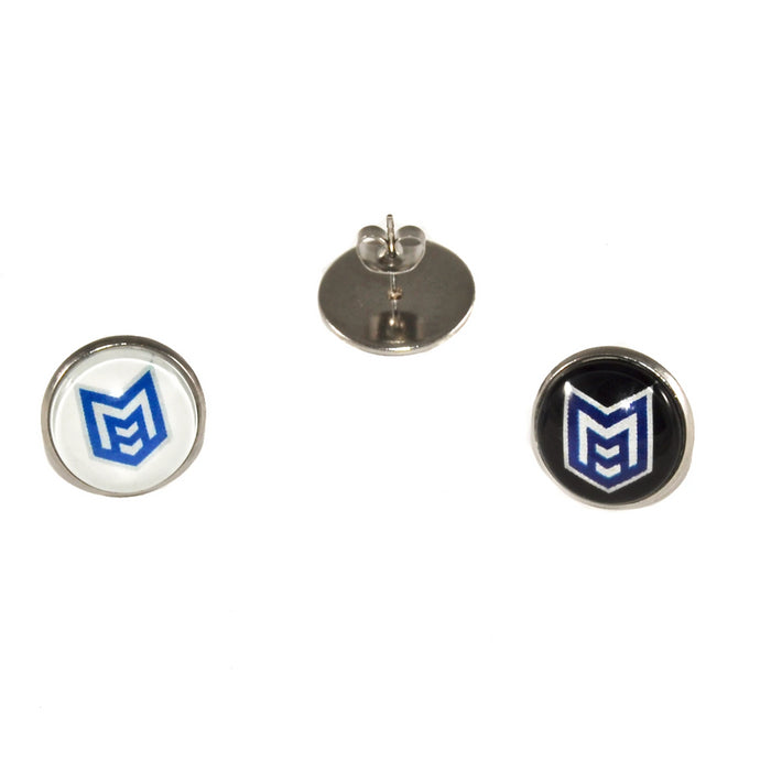 McKinney High School Royal Pride marching band stainless steel stud earrings jewelry
