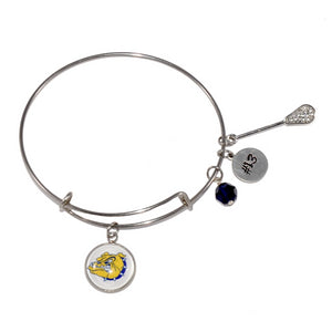 Olmsted Falls Bulldogs Bangle Bracelet