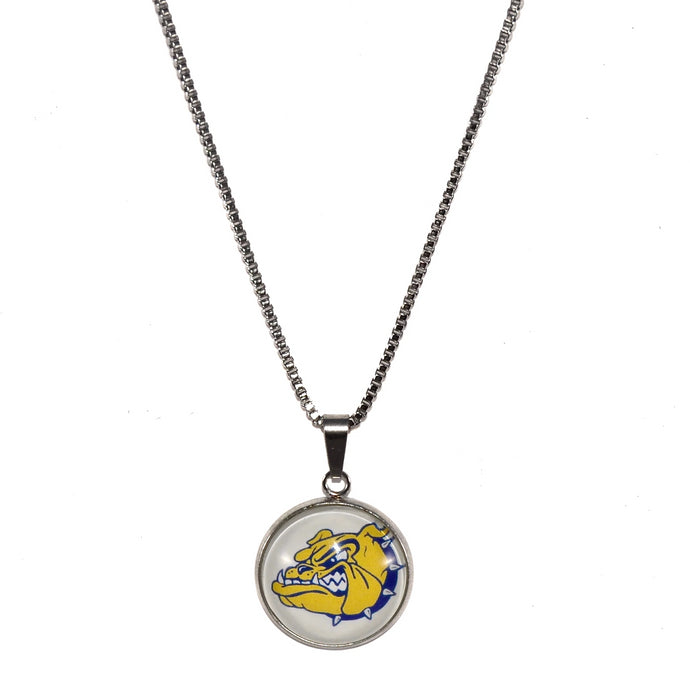 Olmsted Falls Bulldogs stainless steel necklace jewelry fundraiser