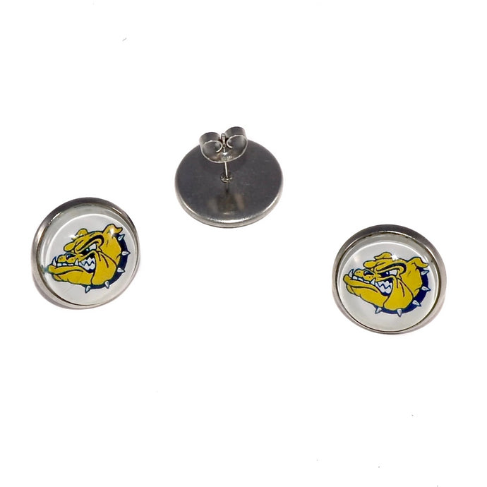 Olmsted Falls Bulldogs earrings jewelry booster club fundraiser