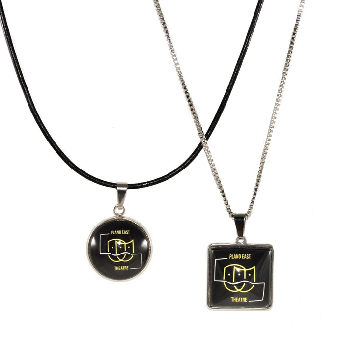 Plano East High School theater necklace jewelry