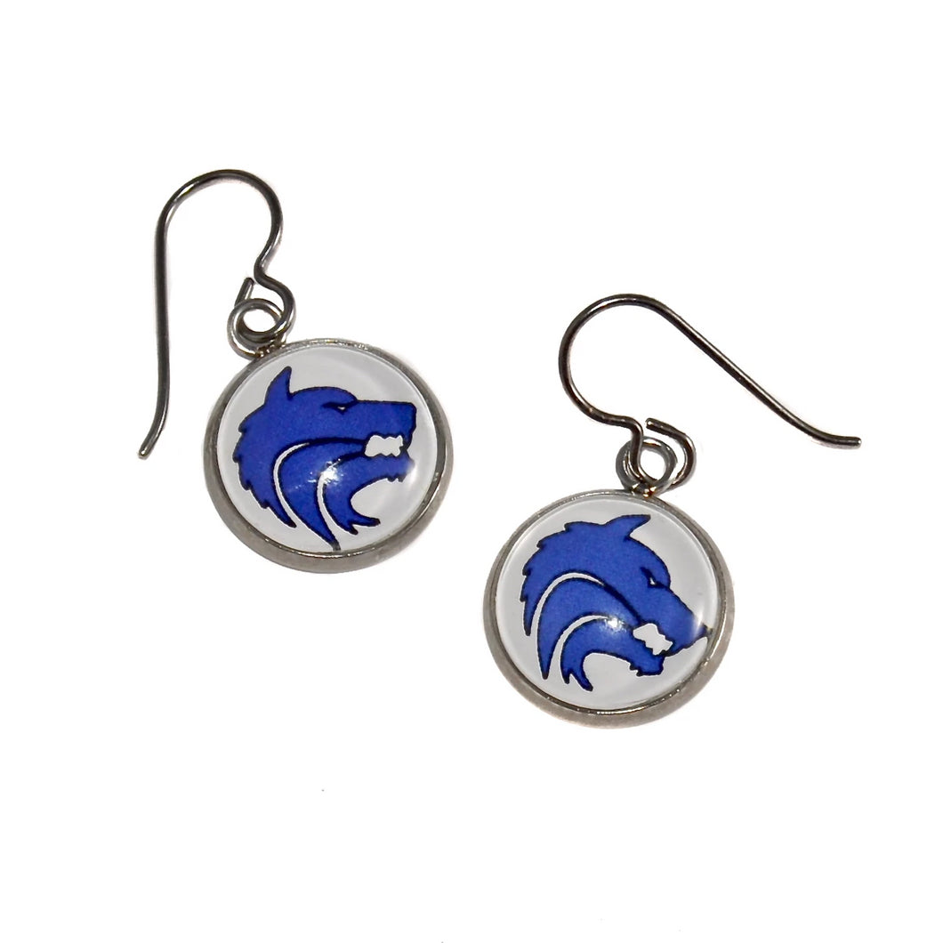 Plano West Senior High School Earrings
