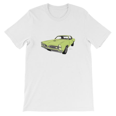 Image of '66 GTO Green No Slogan Kids T-Shirt