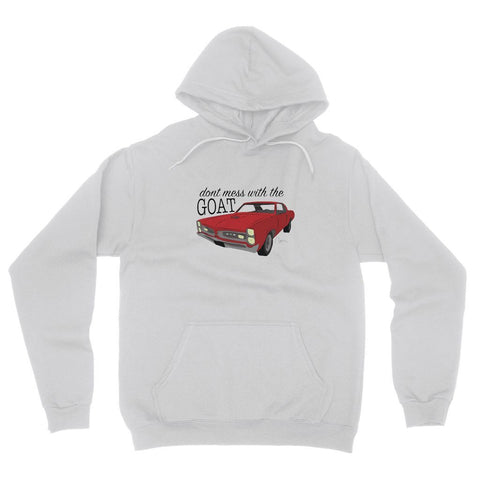 '66 Red GTO Front Fleece Pullover Hoodie