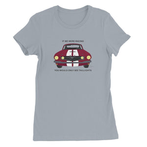 '66 Red Mustang Front Womens Favorite T-Shirt