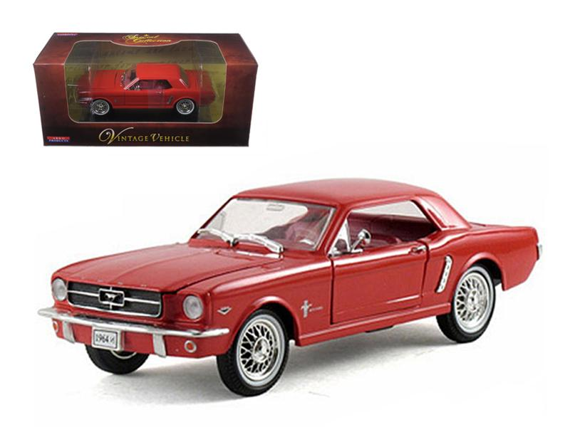 1964 1/2 Ford Mustang Red 1/32 Diecast Car Model by Arko Products